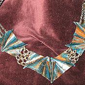Украшения ручной работы. Ярмарка Мастеров - ручная работа Медное оригами. Handmade.