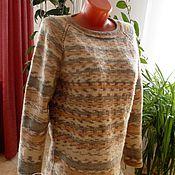 """Одежда ручной работы. Ярмарка Мастеров - ручная работа Пуловер реглан """"Полоски"""". Handmade."""