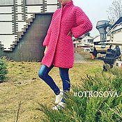 """Одежда ручной работы. Ярмарка Мастеров - ручная работа Вязаное пальто """"Рис"""". Handmade."""