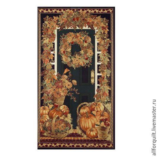 Шитье ручной работы. Ярмарка Мастеров - ручная работа. Купить Панель Harvest,  60 х110 см. США. Handmade.