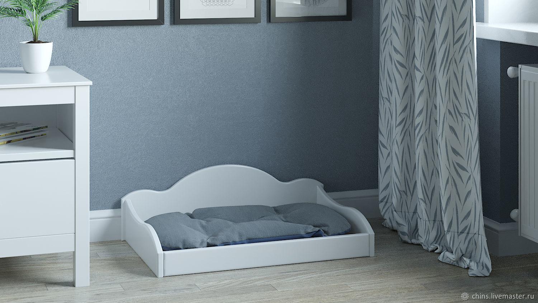"""Кроватка с прочной лежанкой для собак """"Лотос"""" средняя, Лежанки, Солнечногорск,  Фото №1"""