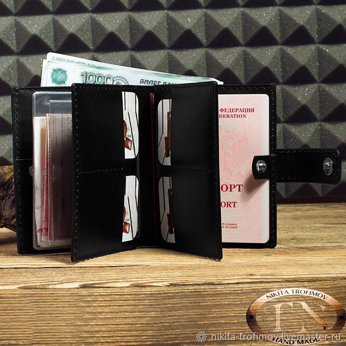 Портмоне для автодокументов мужское TNWallet66, Кошельки, Владимир,  Фото №1