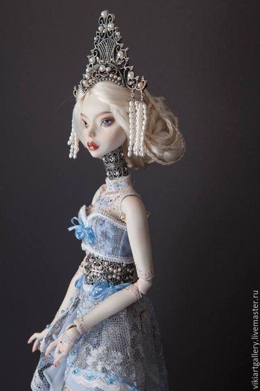 Коллекционные куклы ручной работы. Ярмарка Мастеров - ручная работа. Купить Premium collection Amphitrite. Handmade. Голубой, фарфоровая
