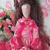 Куклы и игрушки ручной работы. Ярмарка Мастеров - ручная работа Тильда кукла с пирожным Розмари. Handmade.