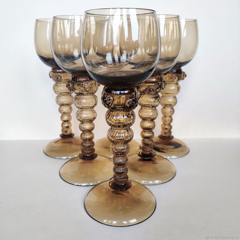 Remer set Sweden 60-gg topaz glass, Vintage glasses, Ramenskoye,  Фото №1
