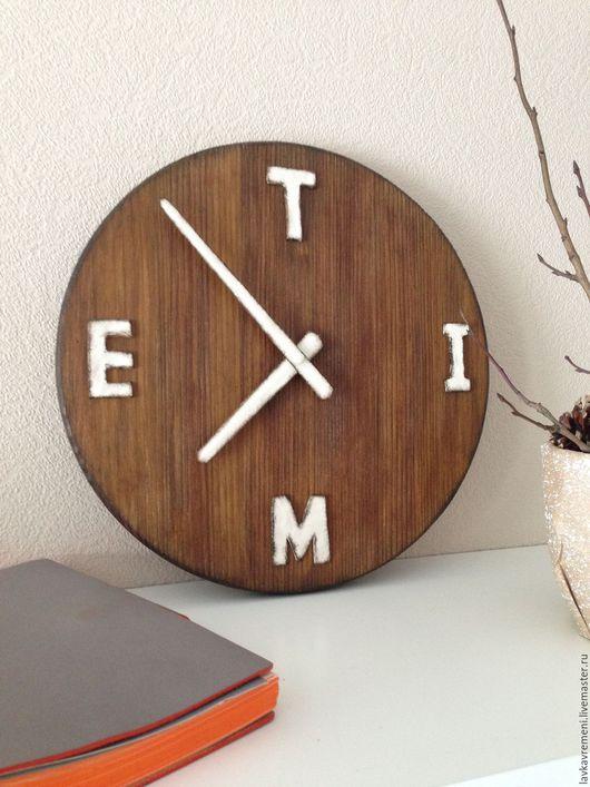 """Часы для дома ручной работы. Ярмарка Мастеров - ручная работа. Купить часы настенные """"Время"""". Handmade. Часы настенные"""