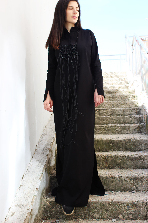 Свободное туника платье