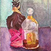 Картины и панно ручной работы. Ярмарка Мастеров - ручная работа Французские духи. Handmade.