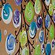 """Абстракция ручной работы. """"Времена года"""" Модульная картина. Арина (Картины для интерьера). Ярмарка Мастеров. Синий, лес, арт-объект"""