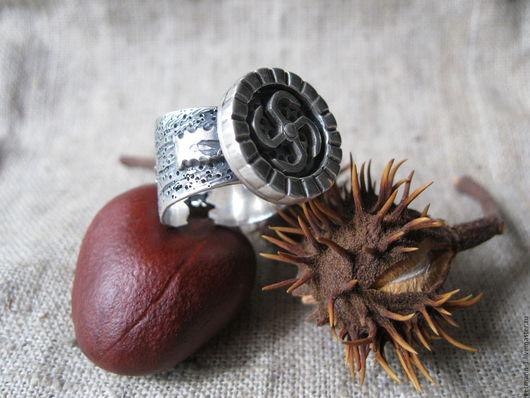 """Кольца ручной работы. Ярмарка Мастеров - ручная работа. Купить Кольцо """"Род"""". Handmade. Креатив, кольцо, авторская работа"""