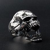 Украшения handmade. Livemaster - original item Skull Ring Silver 925. Handmade.