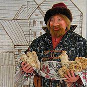 """Куклы и игрушки ручной работы. Ярмарка Мастеров - ручная работа Авторская кукла """"Новгородский купец"""". Handmade."""