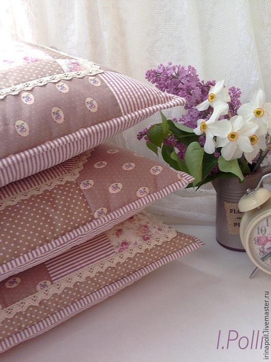Текстиль, ковры ручной работы. Ярмарка Мастеров - ручная работа. Купить Английский завтрак. Декоративные подушки (наволочки). Handmade. Кремовый