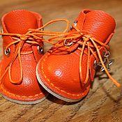Обувь ручной работы. Ярмарка Мастеров - ручная работа Ботиночки для куклы с каблучком. Handmade.