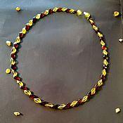 Работы для детей, handmade. Livemaster - original item Natural Baltic amber beads, necklace, healing, snake beads. Handmade.