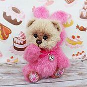 Куклы и игрушки handmade. Livemaster - original item Teddy Bear Button. Handmade.