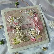 Подарочные конверты ручной работы. Ярмарка Мастеров - ручная работа Розовые капли. Handmade.
