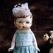 Куклы и игрушки ручной работы. Ярмарка Мастеров - ручная работа Куколка из антикварных деталей Натуся. Handmade.