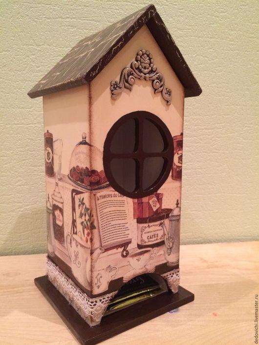 """Кухня ручной работы. Ярмарка Мастеров - ручная работа. Купить Чайный домик """"Классический"""". Handmade. Чайный домик, хранение чая"""