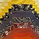 """Женские сумки ручной работы. Сумка """"Азия"""". Татьяна Васильева. Сумочка в руке!. Ярмарка Мастеров. Разноцветный, пляжная сумка, синтепон"""