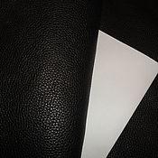 Материалы для творчества ручной работы. Ярмарка Мастеров - ручная работа Натуральная кожа-Акция! 1,6-1,8 мм! Black Nocche!. Handmade.