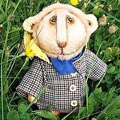 """Куклы и игрушки ручной работы. Ярмарка Мастеров - ручная работа Тедди львенок """"Боня"""". Handmade."""