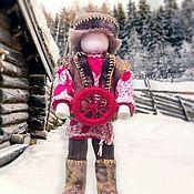 Народная кукла ручной работы. Ярмарка Мастеров - ручная работа Кукла-оберег Спиридон-Солнцеворот. Handmade.