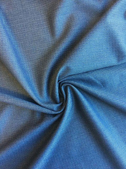 Шитье ручной работы. Ярмарка Мастеров - ручная работа. Купить 27601 темно-синяя итальянская костюмная ткань. Handmade.