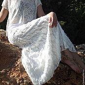 Одежда ручной работы. Ярмарка Мастеров - ручная работа Летняя длинная юбка Ажурная2. Handmade.
