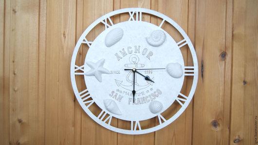 """Часы для дома ручной работы. Ярмарка Мастеров - ручная работа. Купить Настенные часы """" Maritime"""". Handmade. Часы"""