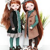 Куклы и игрушки ручной работы. Ярмарка Мастеров - ручная работа БЖД кукла Фокси 28 см. Handmade.
