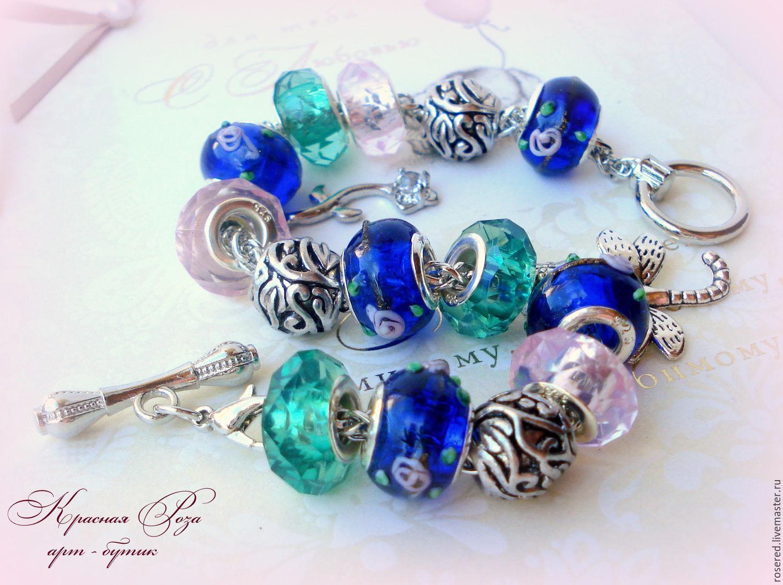 Bracelet 'the Night poetry', Bracelets, Stupino, Фото №1
