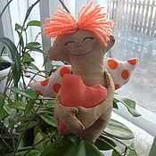 Куклы и игрушки ручной работы. Ярмарка Мастеров - ручная работа Кукла шитая Сплюша ароматизированная Ангелок ручная работа. Handmade.