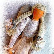 Куклы и игрушки ручной работы. Ярмарка Мастеров - ручная работа Ангел - хранитель домашнего уюта_в стиле Тильда_ цвет_топленое молоко. Handmade.