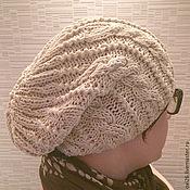 """Аксессуары ручной работы. Ярмарка Мастеров - ручная работа шапка льняная """"Легкость"""". Handmade."""