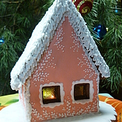 Подарки к праздникам handmade. Livemaster - original item Gingerbread house. Handmade.