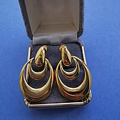 Винтаж handmade. Livemaster - original item Earrings vintage: Napier Earrings. Handmade.