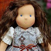 Куклы и игрушки ручной работы. Ярмарка Мастеров - ручная работа вальдорфская кукла  Олечка 36см. Handmade.