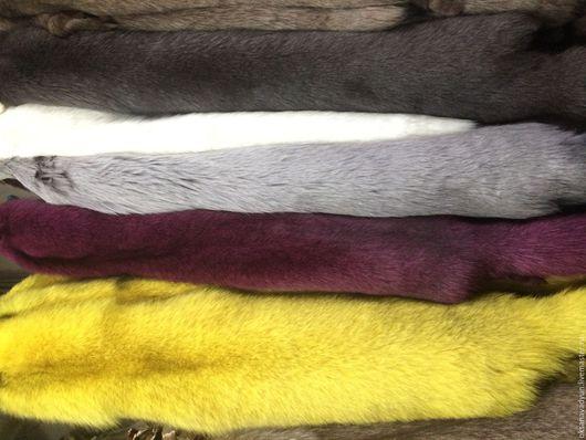 Верхняя одежда ручной работы. Ярмарка Мастеров - ручная работа. Купить Меховой воротник. Handmade. Комбинированный, мех натуральный