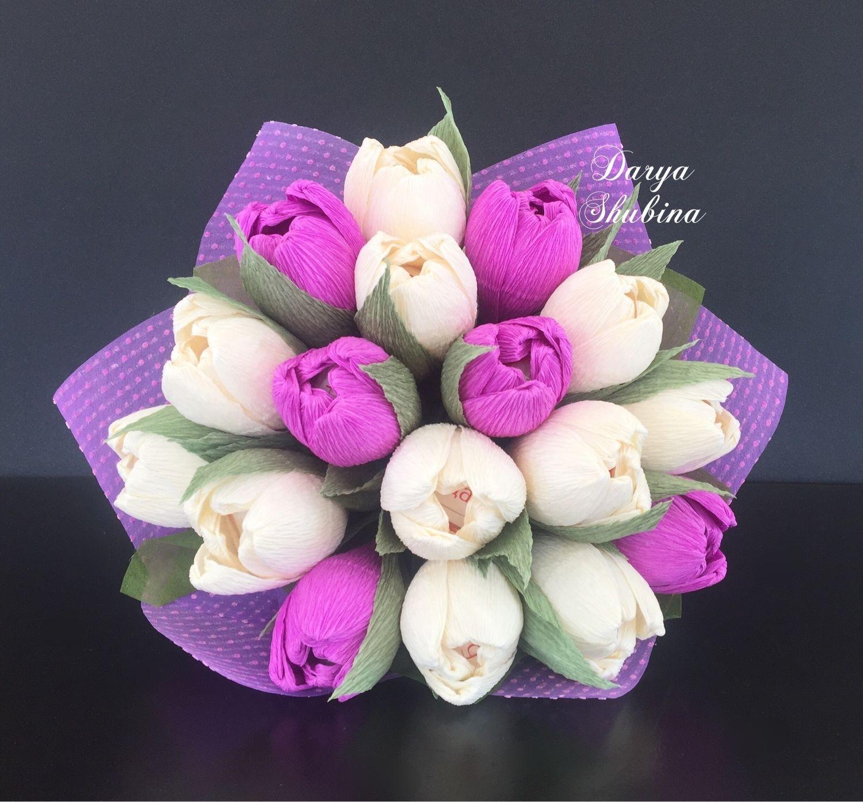 Букет тюльпанов «Горошек», Букеты, Москва, Фото №1