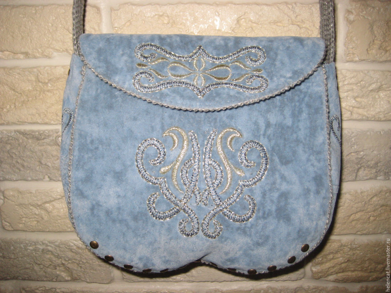 Сумки ручной работы с вышивкой