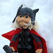 Куклы и игрушки ручной работы. Ярмарка Мастеров - ручная работа Тор, войлочная кукла. Handmade.