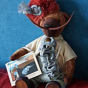 Куклы и игрушки ручной работы. Ярмарка Мастеров - ручная работа Дон Сальвадор - коллекционный плюшевый медведь. Handmade.
