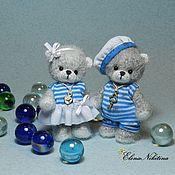 Куклы и игрушки ручной работы. Ярмарка Мастеров - ручная работа Мишки морячки. Handmade.