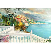 handmade. Livemaster - original item Oil painting sea