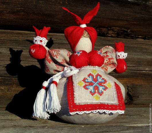 Народные куклы ручной работы. Ярмарка Мастеров - ручная работа. Купить Кубышка-Травница (обережная кукла). Handmade. Обережная кукла