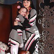 Одежда ручной работы. Ярмарка Мастеров - ручная работа Комплект Мама-Дочка. Handmade.