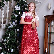 Одежда handmade. Livemaster - original item Sundress in the Russian style Slavic