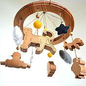 Мобили на кроватку ручной работы. Ярмарка Мастеров - ручная работа Мобиль на кроватку с музыкальным блоком. Handmade.