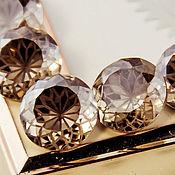 handmade. Livemaster - original item Lotus Crystals Round 14mm Premium Satin Satin. Handmade.
